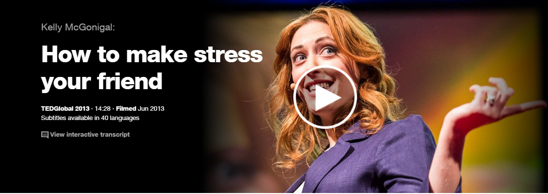stress, kelly mcgonigal, TED, Michael Laffey, Life Coach
