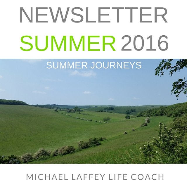 Michael Laffey, Life Coach, Michael Laffey Life Coach, Newsletter
