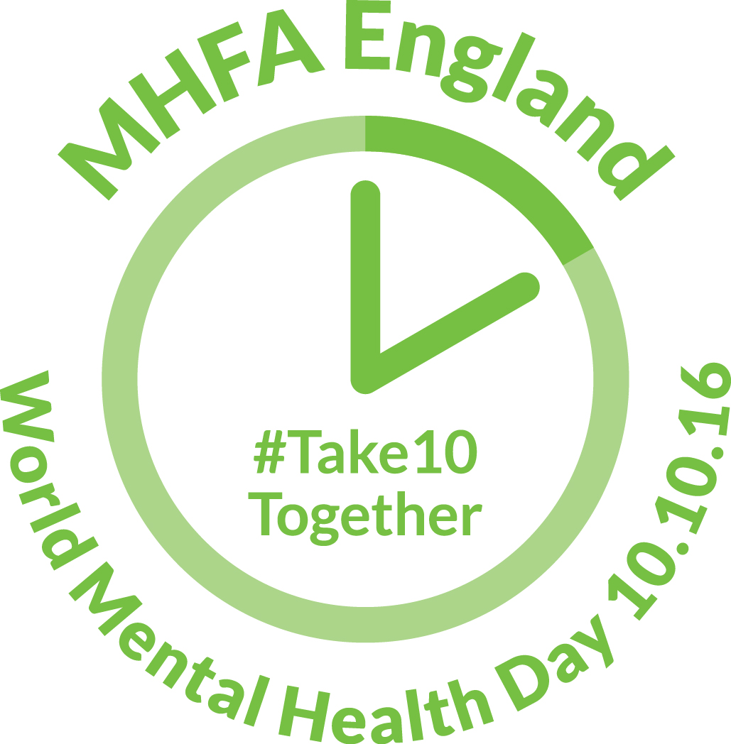 world mental health day 2016, world mental health day, take 10 together, take 10, michael laffey, michael laffey life coach