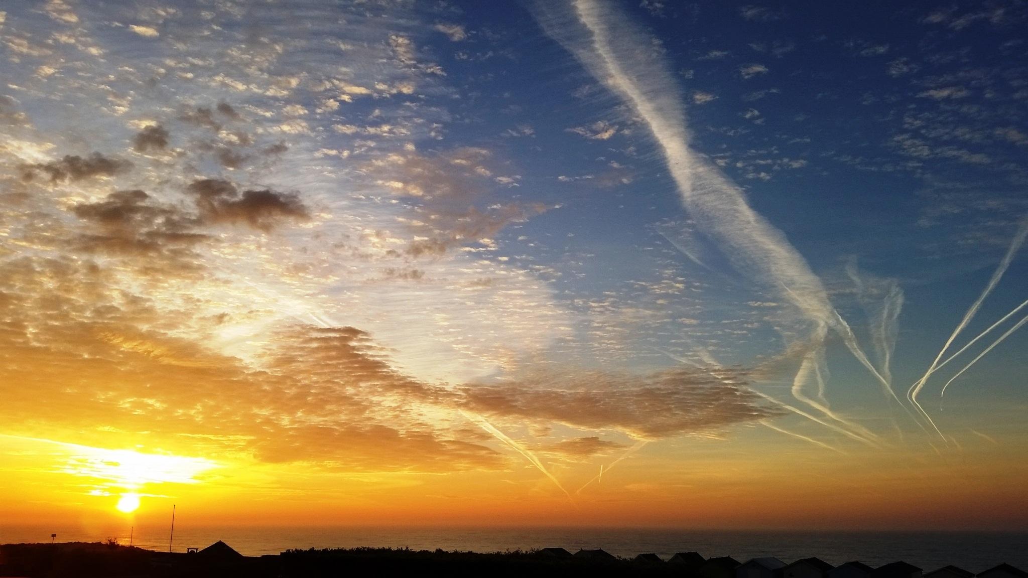 Lancing beach, Samhain, sunrise, halloween, November