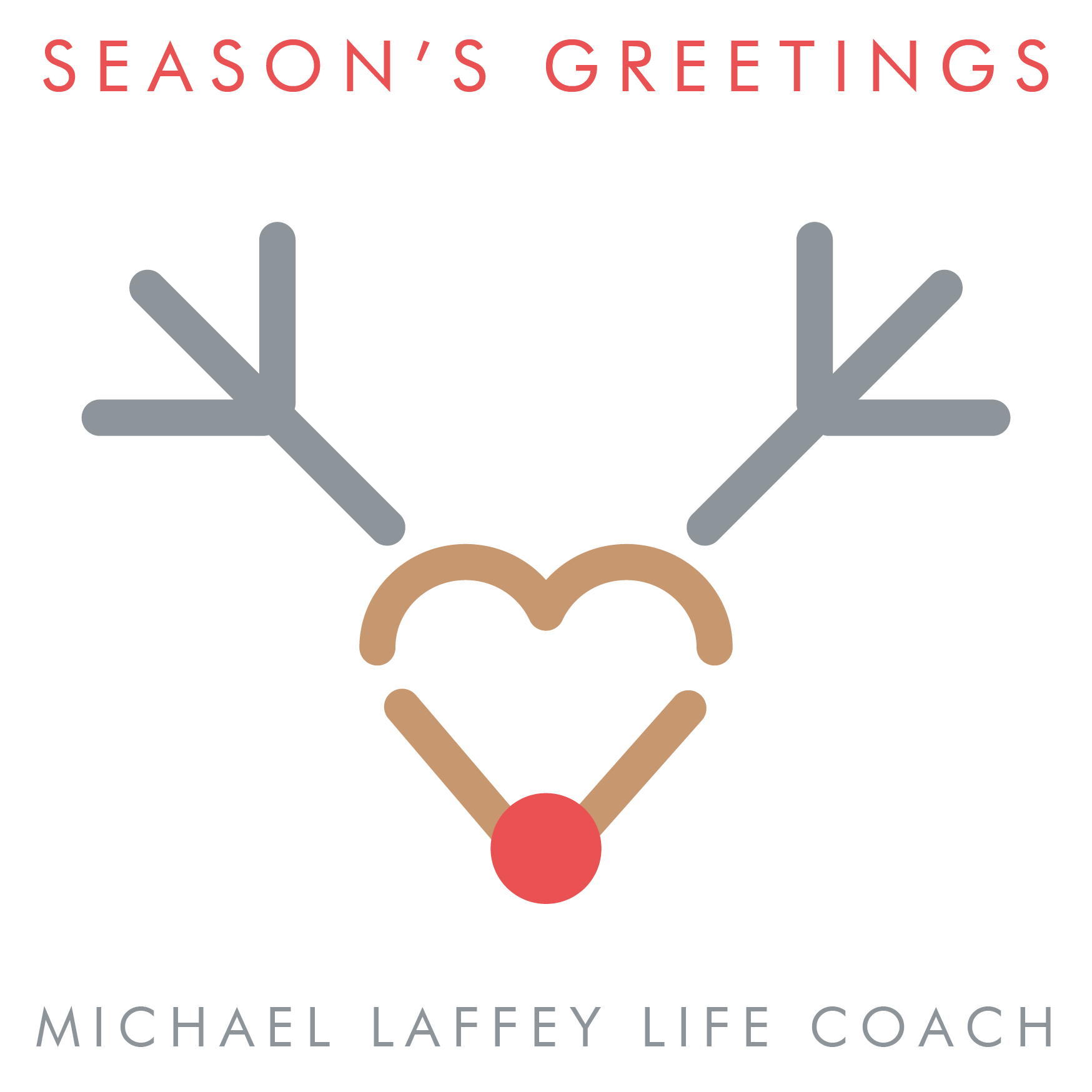 Season's Greetings, Seasons Greetings, Michael Laffey, Michael Laffey Life Coach, Life Coach, Sussex, Brighton, Hove