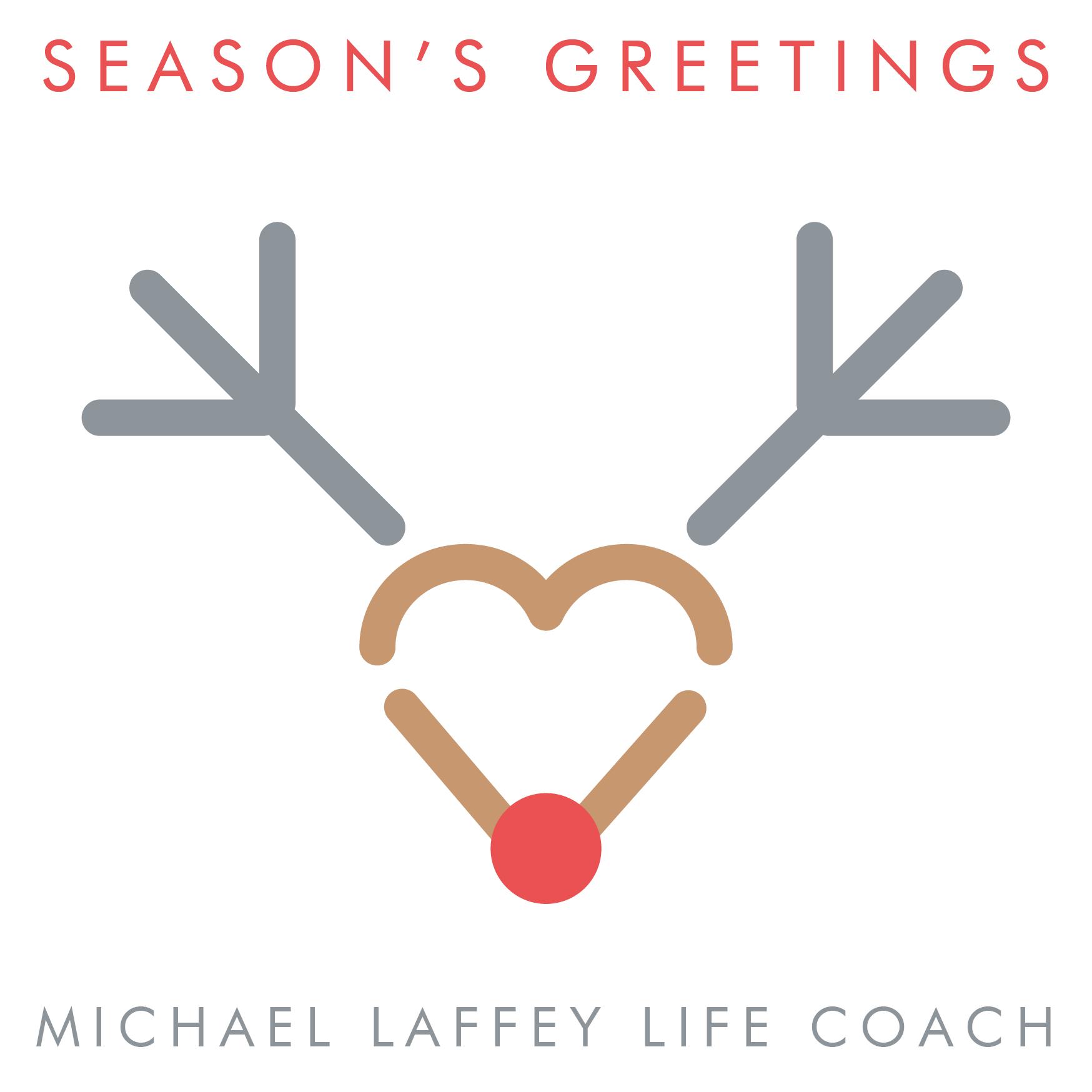 Season's Greetings, Seasons Greetings, Michael Laffey, Michael Laffey Life Coach, Life Coach, Sussex, Brighton, Hove
